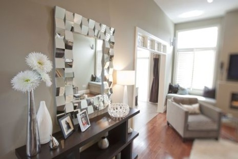 10 fabulous statement wall mirrors - living room mirrors | living room mirrors