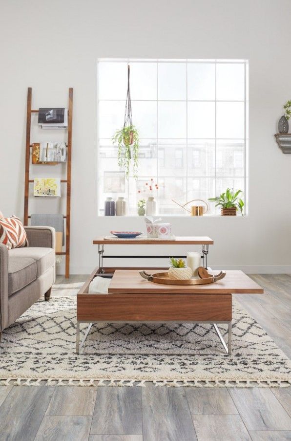 11 Clever Living Room Organization Ideas | Overstock | living room organization ideas
