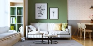 11 Gorgeous Green Living Rooms And Tips For Accessorizing Them | living room green walls