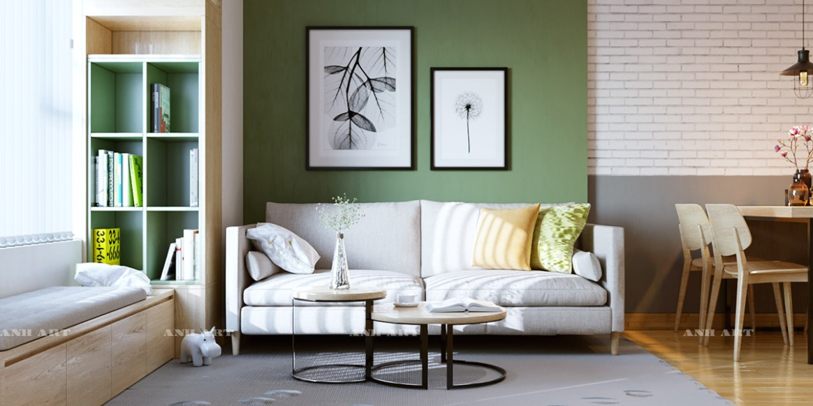 11 Gorgeous Green Living Rooms And Tips For Accessorizing Them - living room green walls   living room green walls