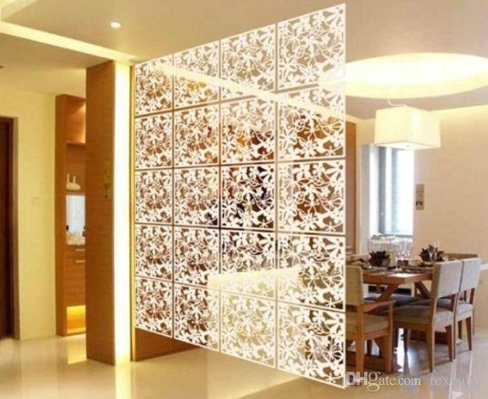 11cmx11cm Biombo Curtain Wall Panels Hanging Screen Mobile Living Room  Entrance Minimalist Fashion Chinese Folding Screen Japanese Novelty Gifts  ... | living room entrance