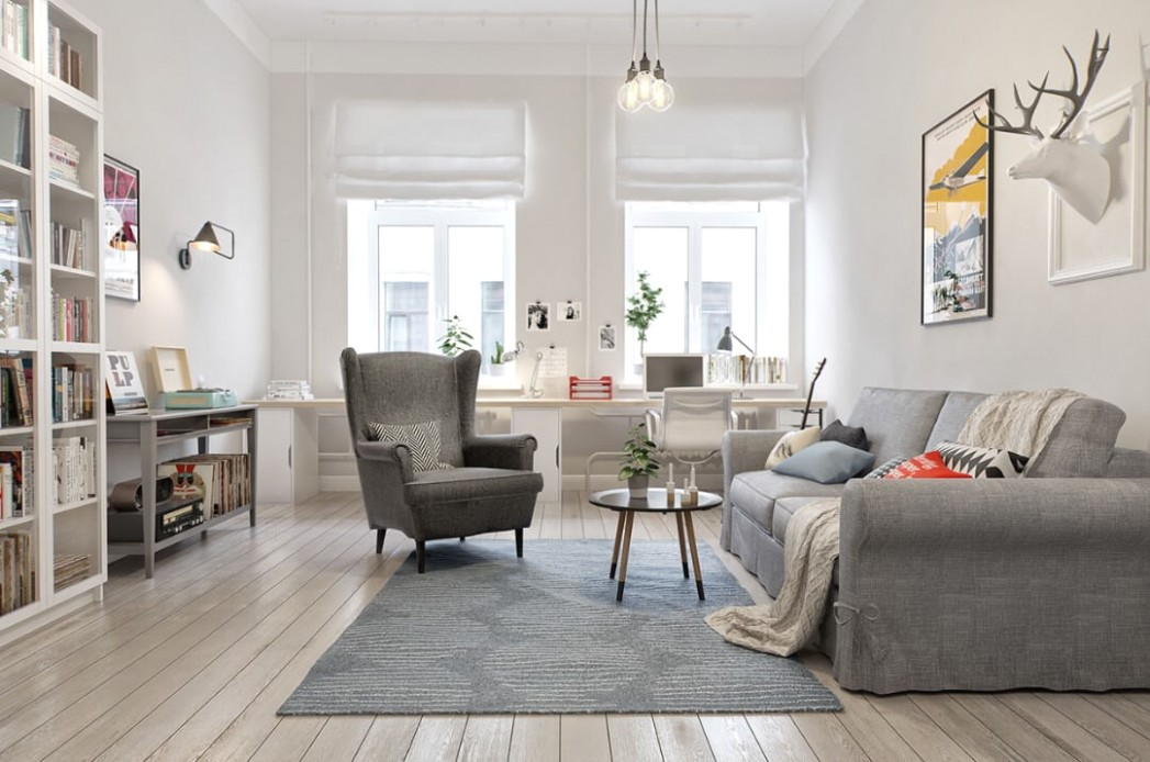 12 Most Mesmerizing Ideas of Scandinavian Living Room - living room scandinavian style | living room scandinavian style