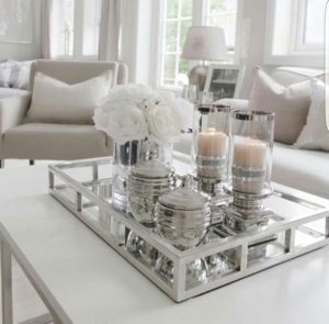 13 Coffee Table Décor Ideas for a More Lively Living Room ... | living room coffee