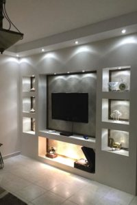 14 amazing tv wall design ideas for living room decor 14 » AERO.DREAMS | living room wall design