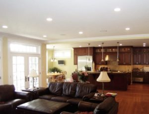 14 Applications of Recessed Downlights - RecessedLightsPRO | can lights living room