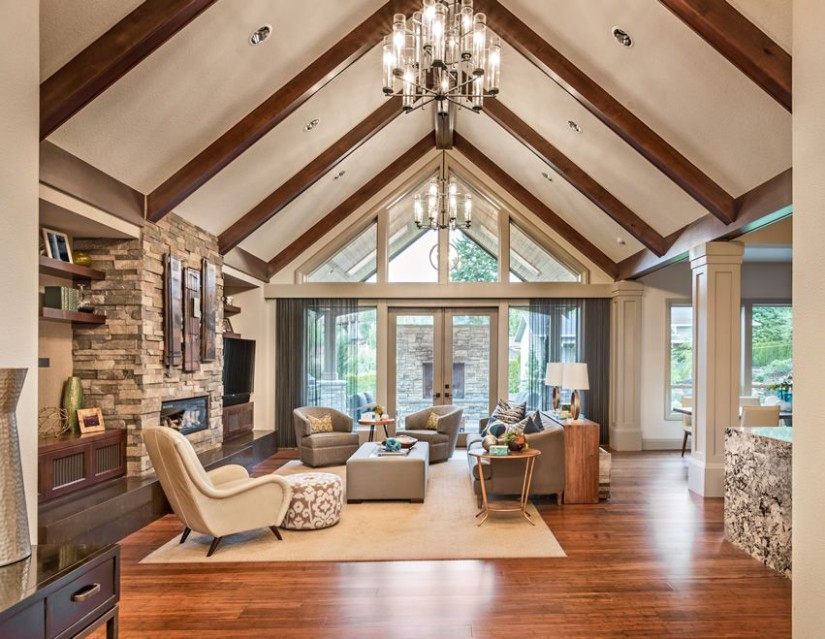 14 Beautiful Living Room Decorating Ideas (Pictures) | Vaulted .. | living room vaulted ceiling