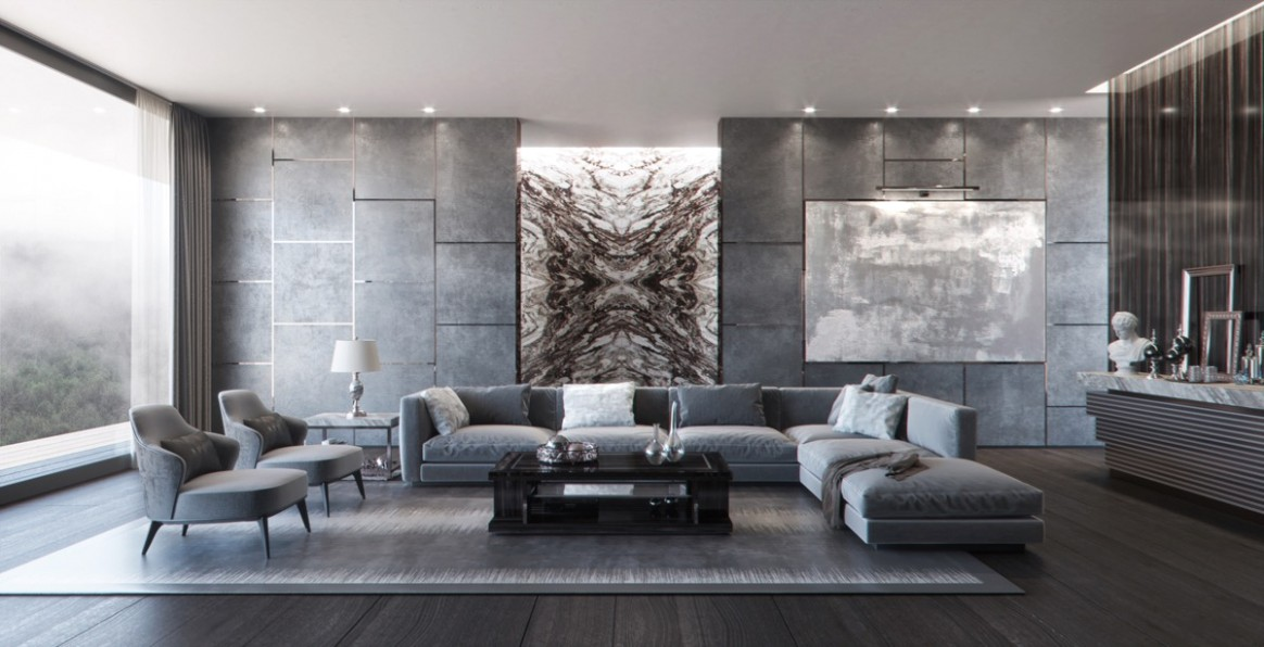 14 Grey Living Rooms That Help Your Lounge Look Effortlessly .. | living room grey
