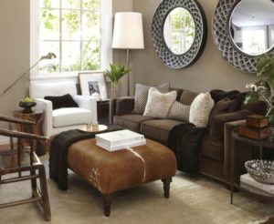 14 ideas about Dark Brown Couch on Pinterest | Brown Couch ... | living room pinterest ideas
