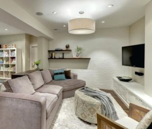 14 Lighting Ideas for Living Room with Low Ceiling - Dream House | living room lighting ideas