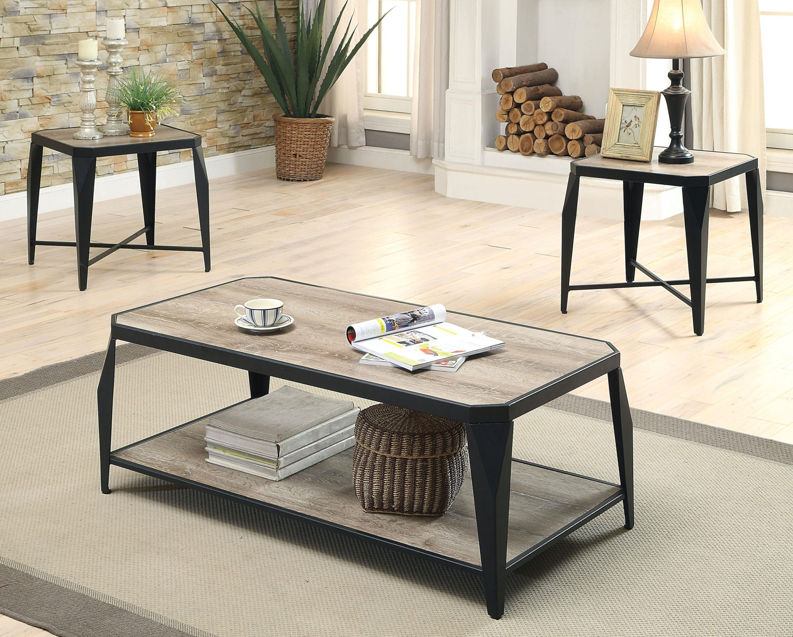 14 Piece Coffee and End Table Set - living room 3 piece table set | living room 3 piece table set
