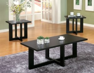 14 Piece Occasional Table Set in Black Finish by Coaster - 7015014 | living room 3 piece table set