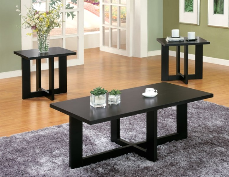 14 Piece Occasional Table Set in Black Finish by Coaster - 7015014 - living room 3 piece table set | living room 3 piece table set