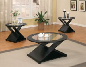 14 Piece X Style Occasional Table Set by Coaster - 14   living room 3 piece table set