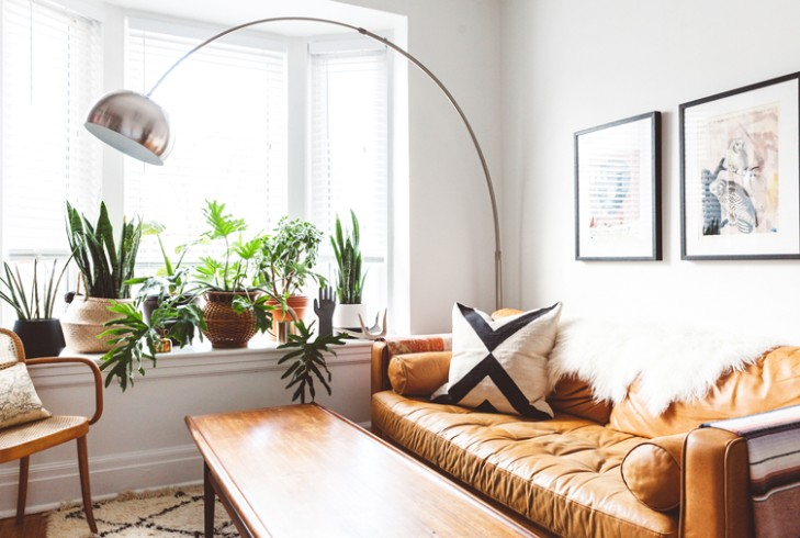 14 Plant-Filled Living Rooms for Serious Decor Inspiration - living room plants | living room plants
