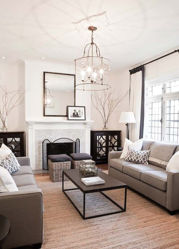 14 Super stylish and inspiring neutral living room designs .. | living room inspiration