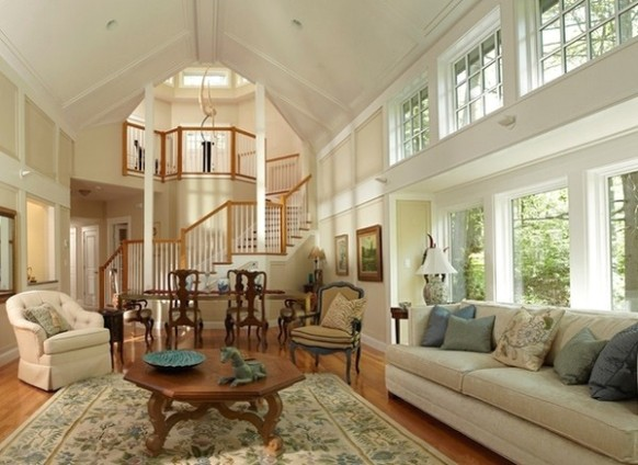 14 + unique cathedral and vaulted ceiling designs in living rooms - living room vaulted ceiling | living room vaulted ceiling