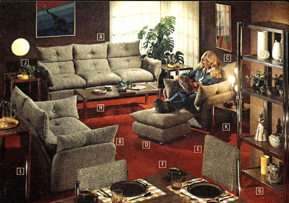 14 Years of Living Rooms: 14 to 14 - Flashbak - living room 80s | living room 80s