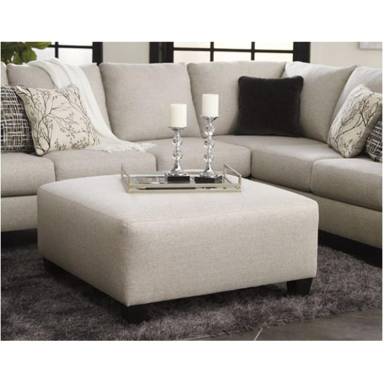 15 Ashley Furniture Hallenberg Oversized Accent Ottoman - living room ottoman | living room ottoman