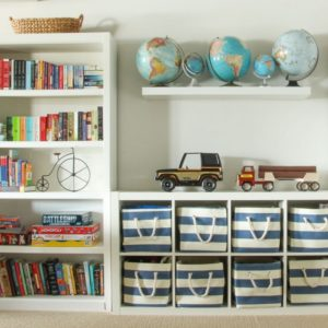 15 Best Toy Organizer Ideas - DIY Kids' Room Storage Ideas | living room toy storage