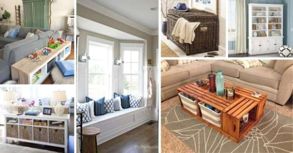 15 Best Toy Storage Ideas For Living Room - living room toy storage | living room toy storage