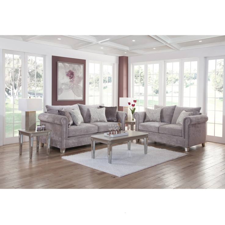15-Piece Hollywood Living Room Collection | Living room collections .. | living room 7 piece sets