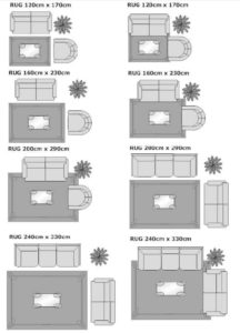 16 Area Rug Rules and How to Break Them http://www.houzz.com ... | living room rug size