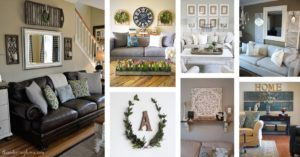18 Best Rustic Living Room Wall Decor Ideas and Designs for 18 | living room wall decor ideas