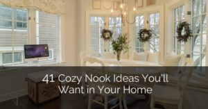 18 Cozy Nook Ideas You'll Want in Your Home | Home Remodeling ... | living room nook