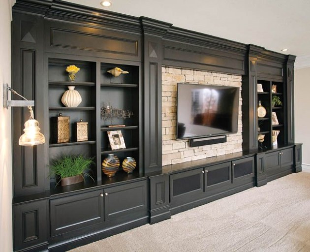18 DIY Entertainment Center Ideas and Designs For Your New Home .. | living room entertainment center