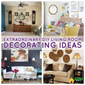 18 Extraordinary DIY Living Room Decorations That Will Increase ... | living room wall decor ideas