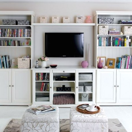 18 Simple But Smart Living Room Storage Ideas | Small living room .. | living room storage