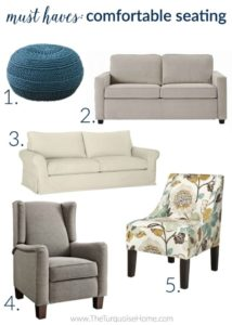 18 Things Every Living Room Needs | The Turquoise Home | living room things