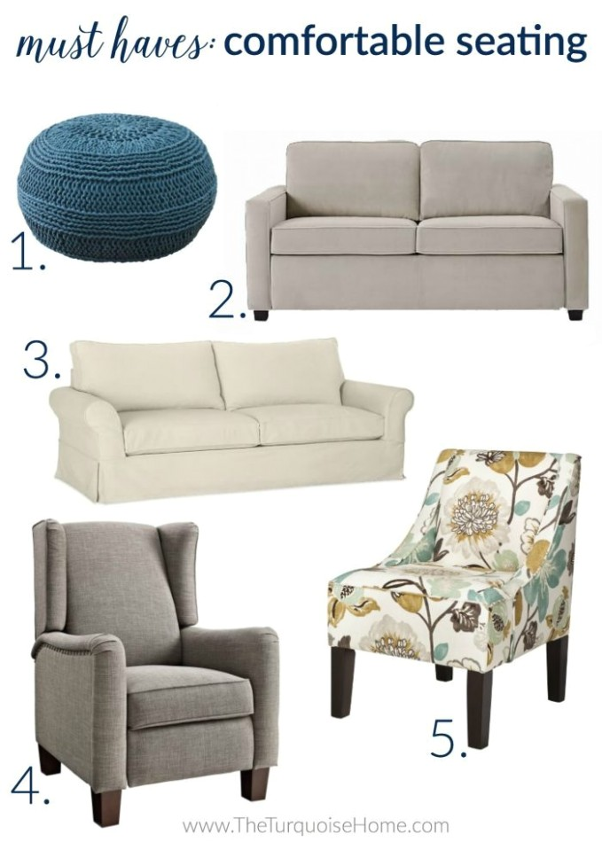 18 Things Every Living Room Needs   The Turquoise Home - living room things   living room things
