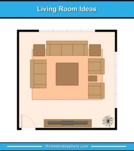 19 Living Room Furniture Layout Examples (Floor Plan Illustrations) | living room plan