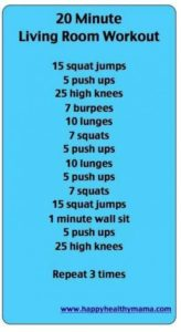 19 min Living Room Workout... #exercises #wod training #fitness ... | living room exercises
