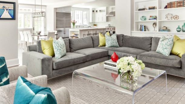 20 Gray L-Shaped Sofa for the Living Room | Home Design Lover - living room sofa | living room sofa