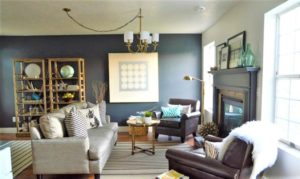 20 Incredible Before-and-After Living Room Makeovers | living room makeover