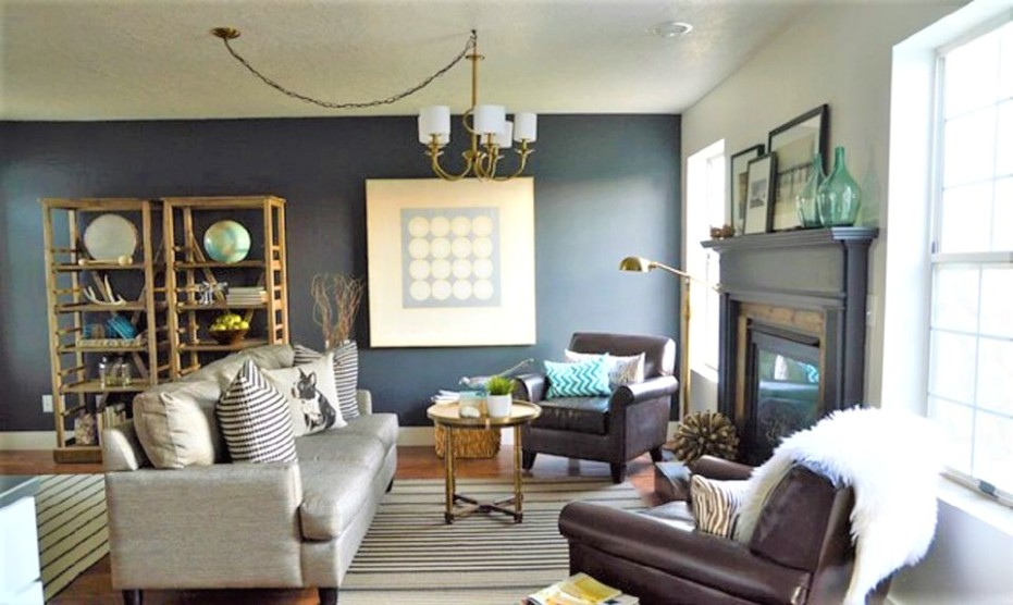 20 Incredible Before-and-After Living Room Makeovers - living room makeover | living room makeover
