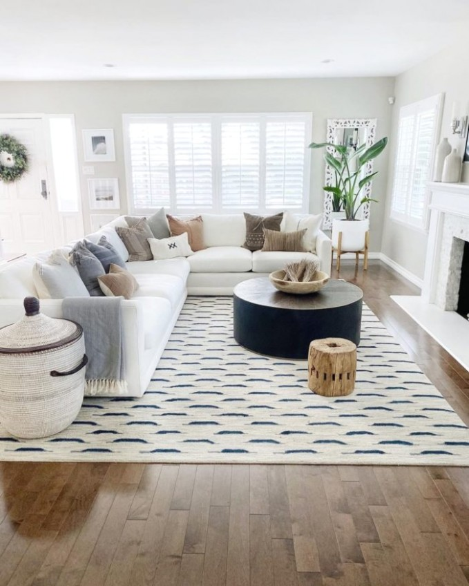 20 Living Room Rugs To Cozy Up Your Home - LikeToKnowIt - living room rugs | living room rugs