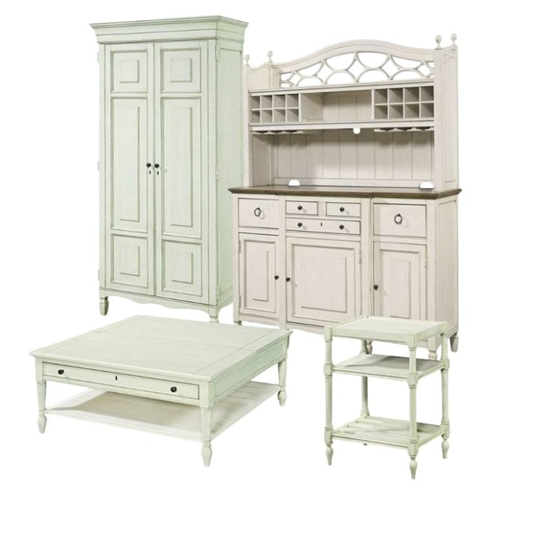 20 Piece Living Room Set with Tall Cabinet, Buffet & Bar Hutch, Cocktail  Table.. | living room hutch