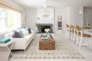 21 Area Rug Rules and How to Break Them | living room 8x10 rug