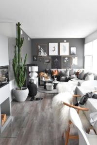 21 Calming Gray Living Room Ideas 21 (For Cool People) - Dovenda | living room 2020