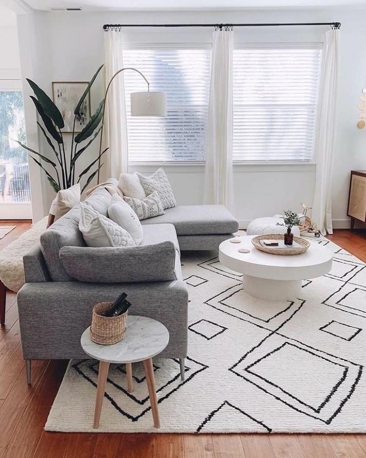 21+ Living Room Rug Design Ideas To Take Your Breath Away | Living .. | living room rug ideas