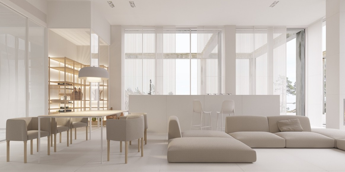 9 Gorgeously Minimalist Living Rooms That Find Substance in .. | living room minimalist