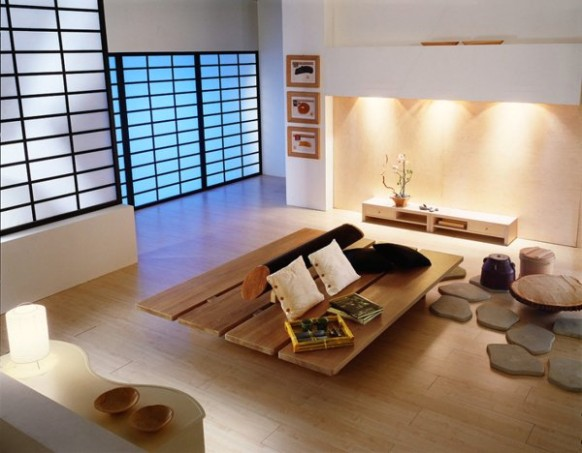 9 Japanese Home Decoration in the Living Room | Home Design Lover - living room japanese | living room japanese