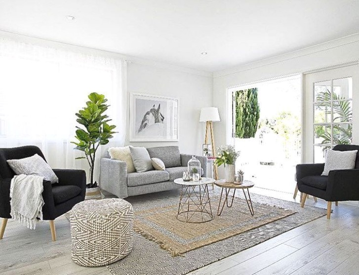 A little living room inspiration via the talented ladies at .. | living room inspiration