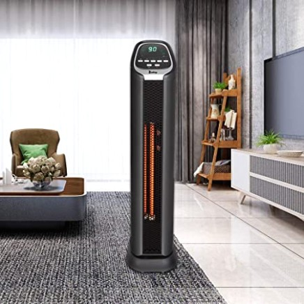 Amazon.com: SSLine Electric Tower Infrared Heater Portable Space .. | living room heater