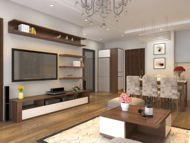 Apartment livingroom simple | 16D model - living room 3d | living room 3d