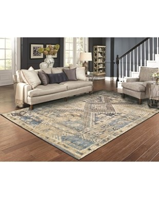 AS Quality Rugs Large Distressed Rugs for Living Room 21x21 Blue Clearance  Area Rugs 21x21 Prime Rugs from Amazon | BHG | living room 8x10 rug