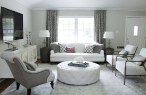 Before &, After: An Elegant, Budget-Friendly Living Room Makeover | living room makeover